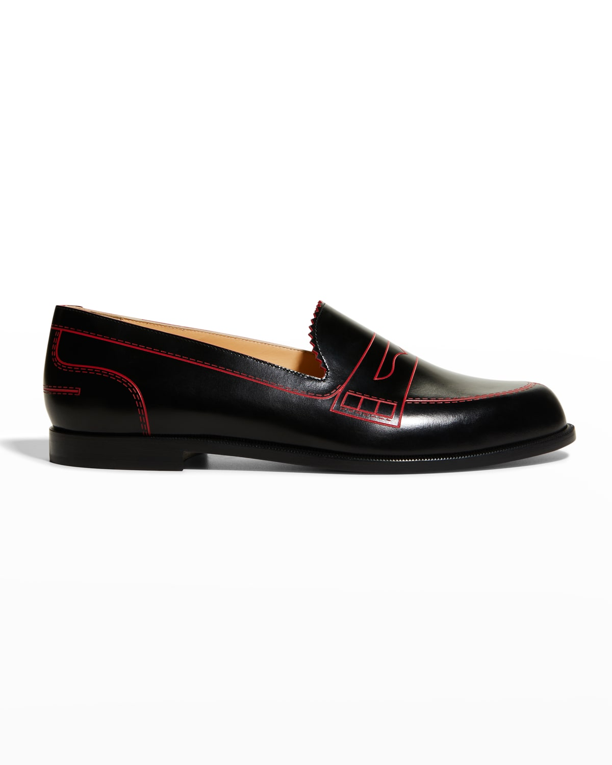 Mocalaureat Flat Red Sole Loafers