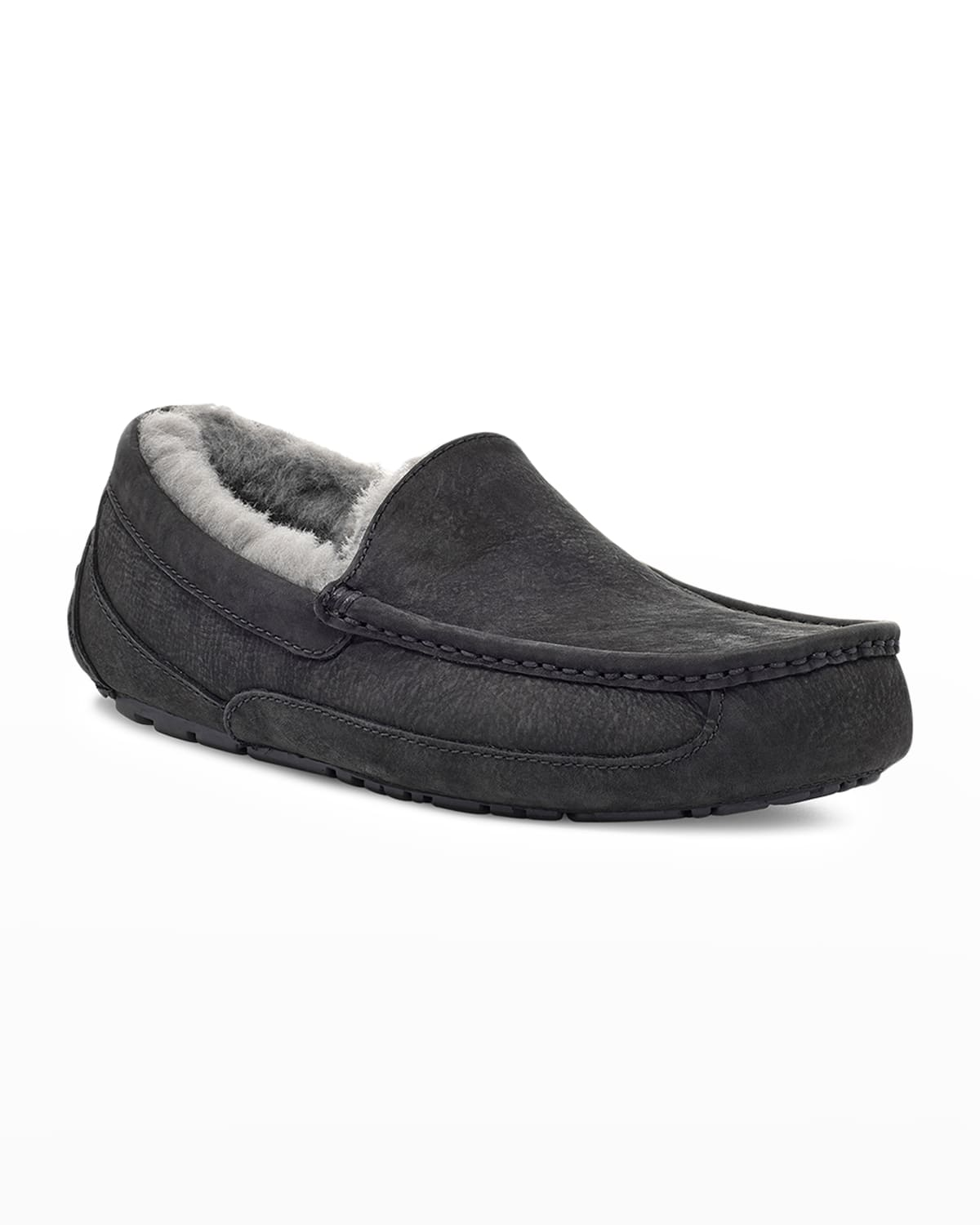 Men's Ascot Leather Slippers