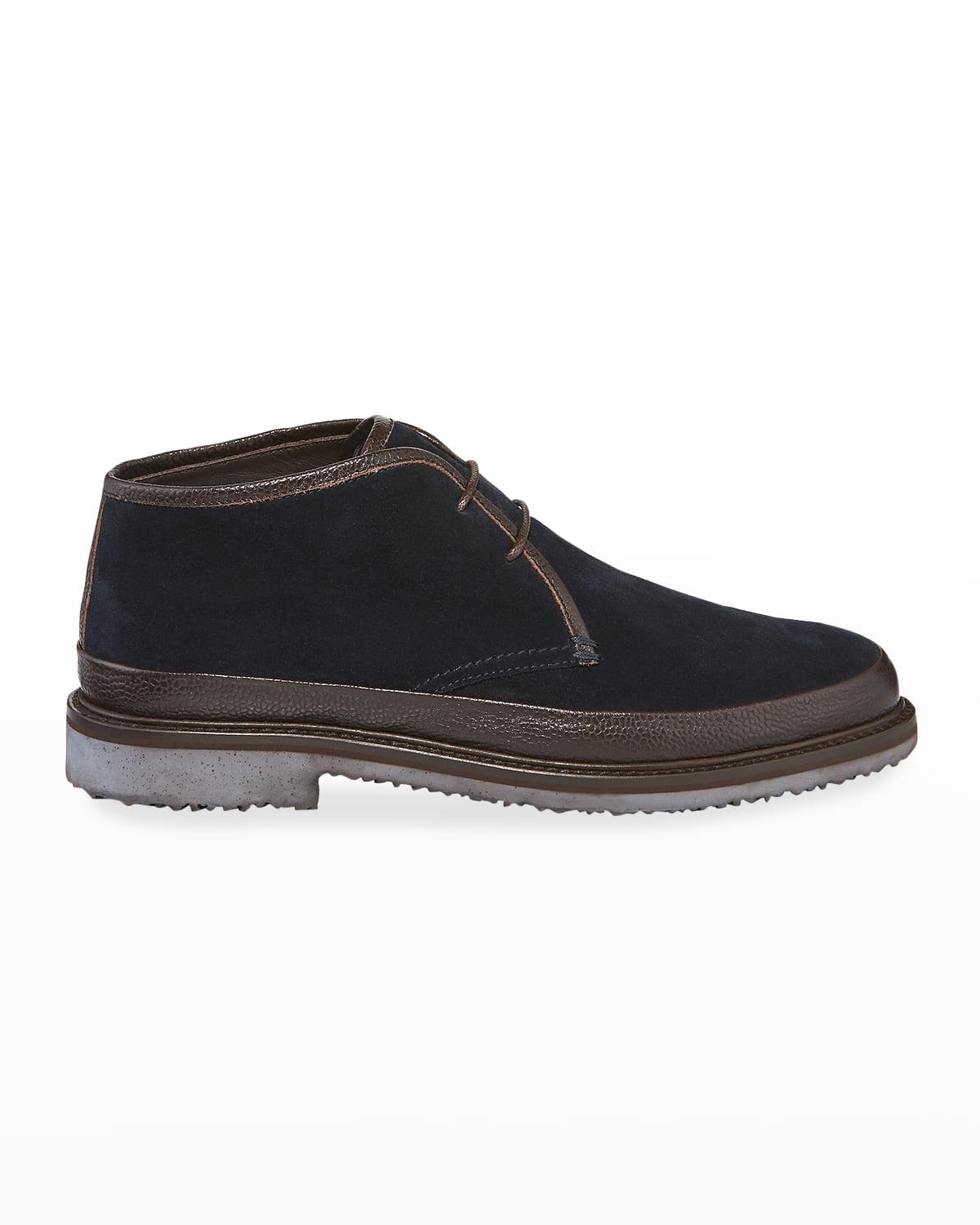 Men's Trivero Suede Chukka Boots with Mud Guard
