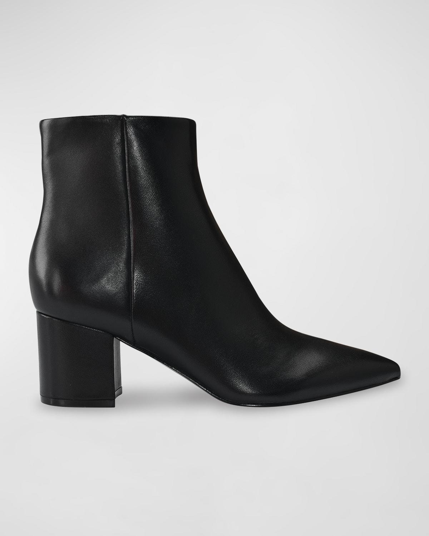 Jarli Leather Booties