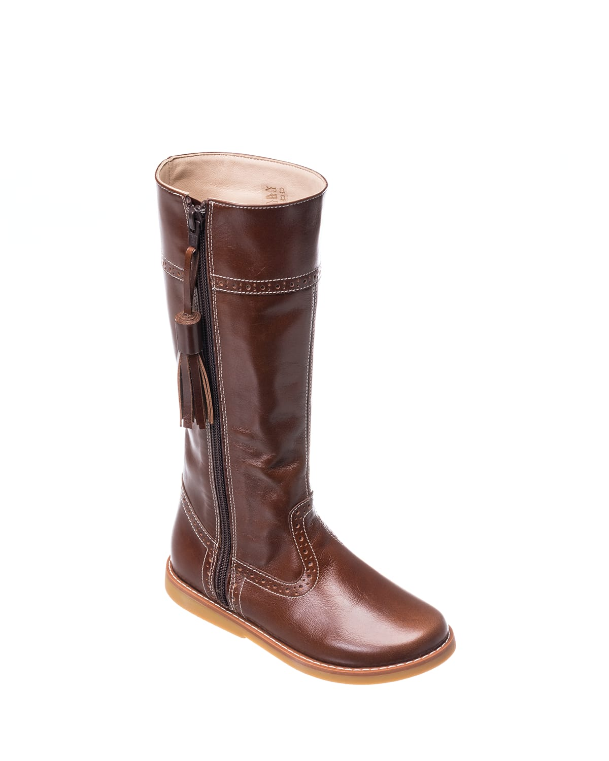 Girl's Leather Riding Boots