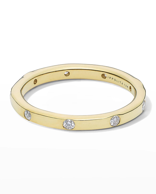 Stardust 18k All-Around Diamond Ring