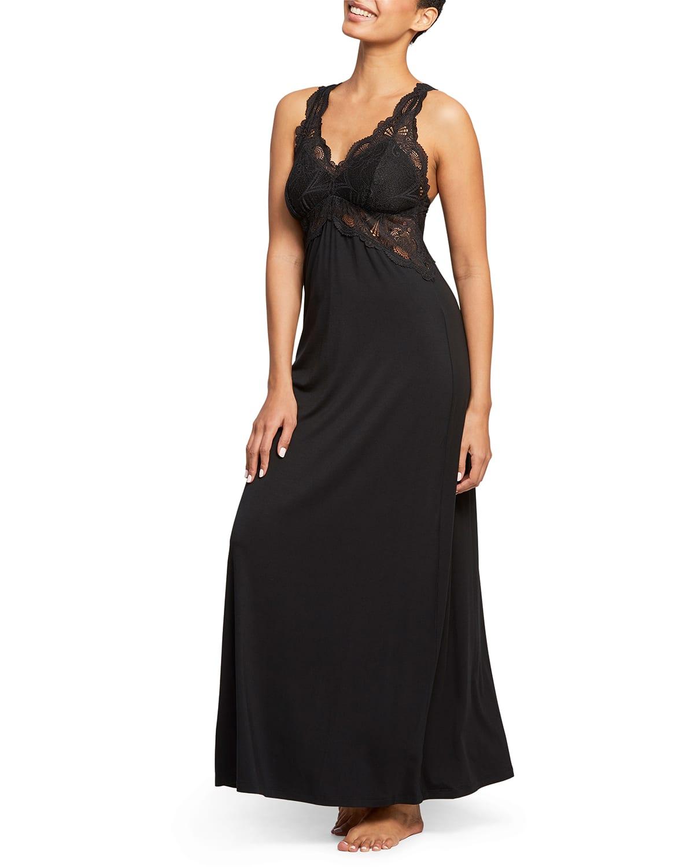 Belle Epoque Lace T-Back Gown