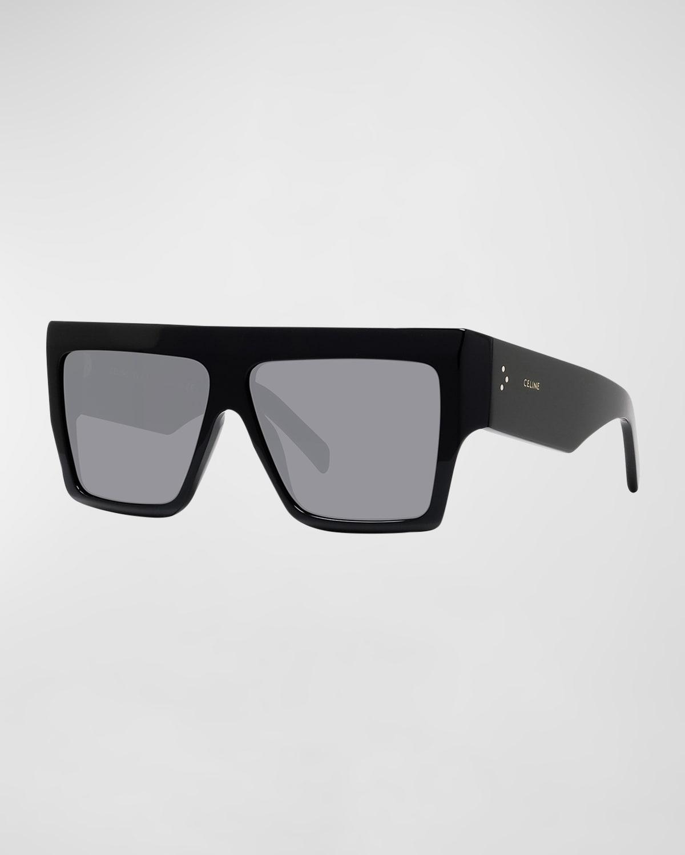 Chunky Rectangle Acetate Sunglasses