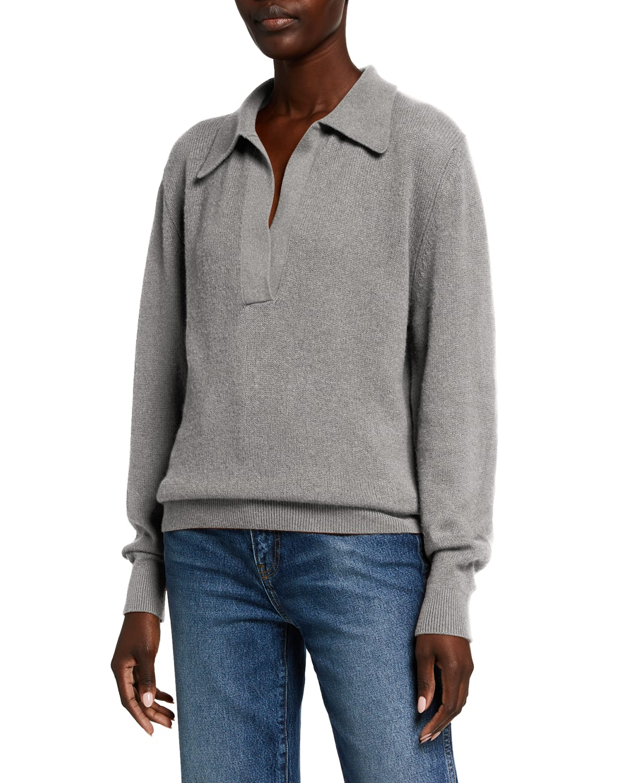Jo Cashmere Featherweight-Knit Sweater