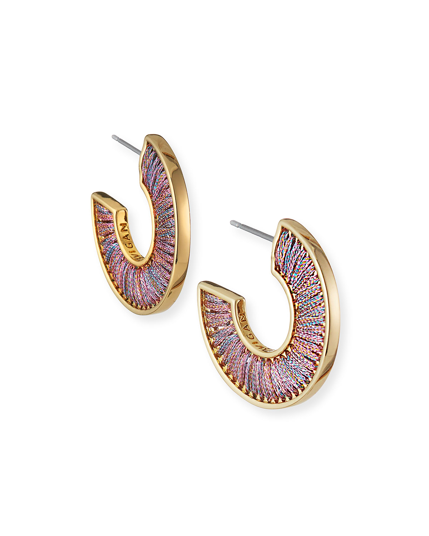 Mini Fiona Hoop Earrings