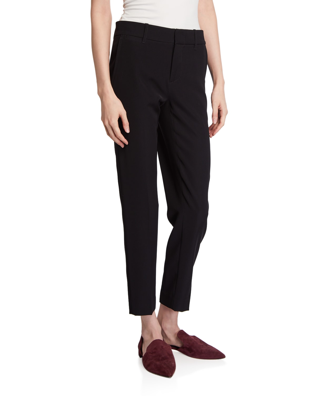 Soft Tailored Ankle Trousers
