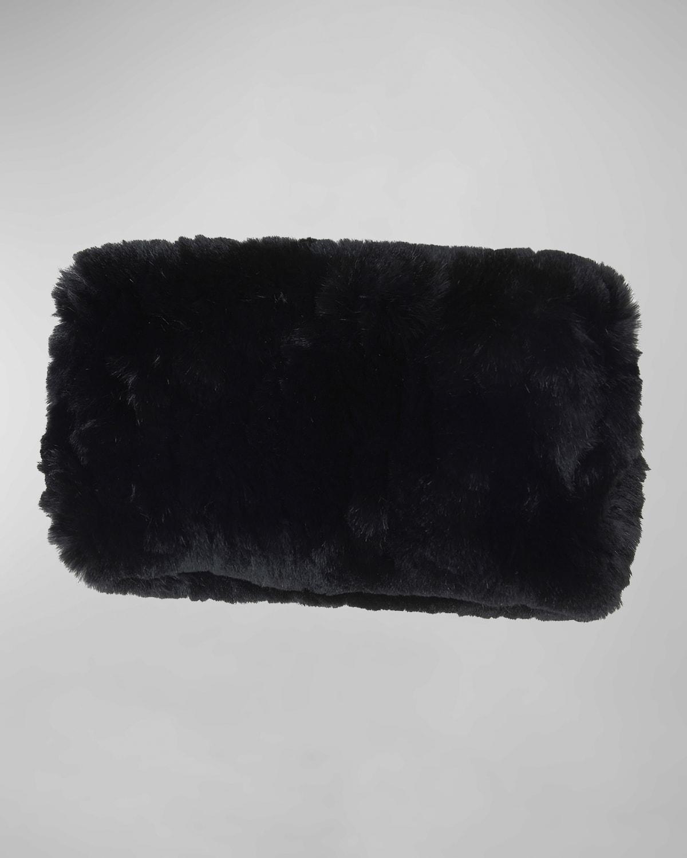 Mink Fur Knit Headband