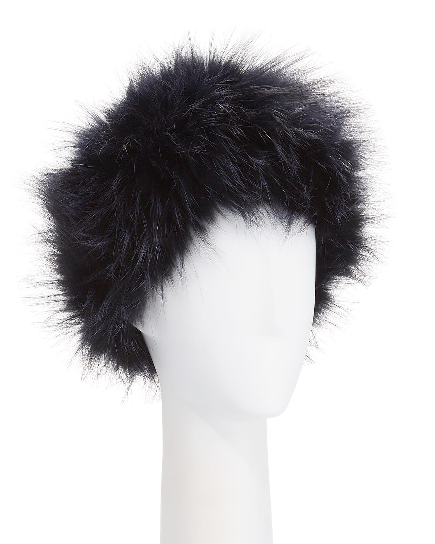 Fox Fur Knit Headband
