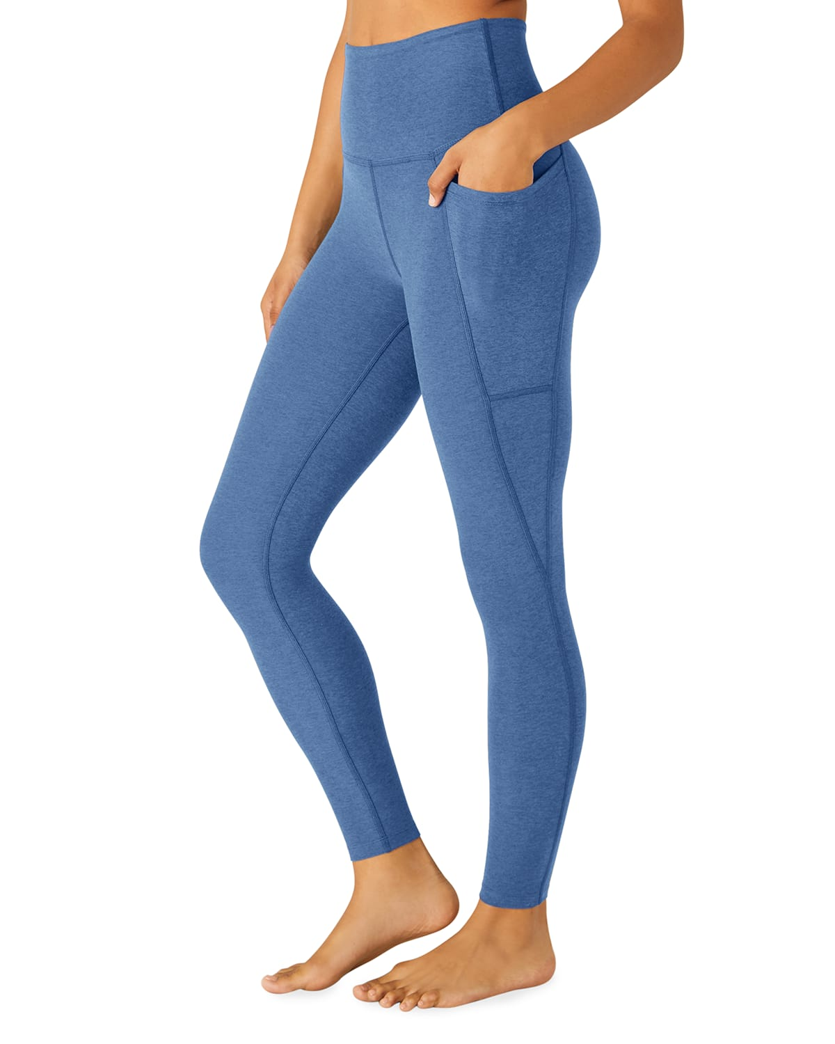 Out Of Pocket Space Dye High-Waist Mid Leggings
