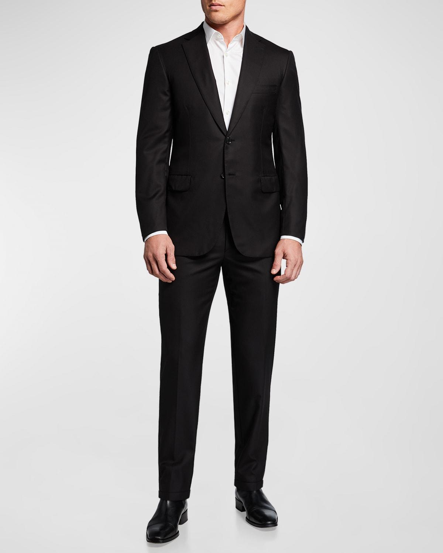 Men's Brunico Essential Virgin Wool Two-Piece Suit