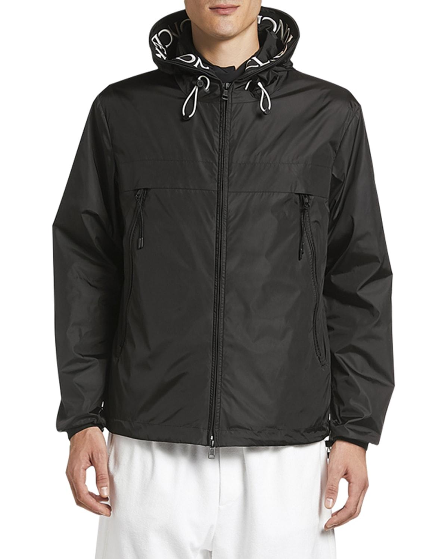 Men's Massereau Logo-Trim Wind-Resistant Jacket