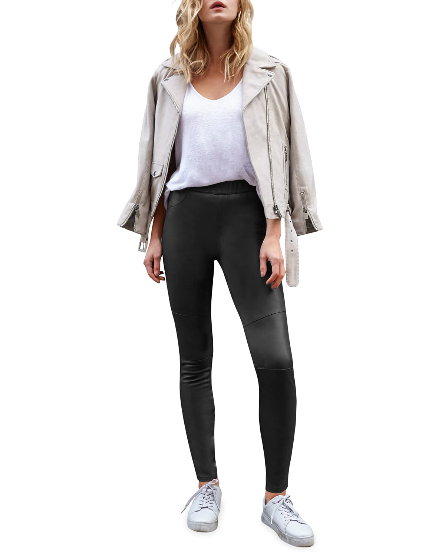 Kiki Leather Leggings