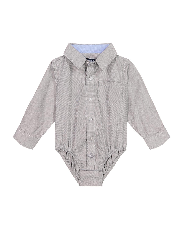 Boy's Button-Down Cotton Shirtzie