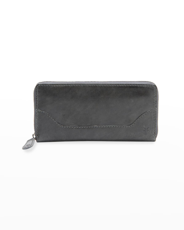 Melissa Antique Leather Zip Wallet