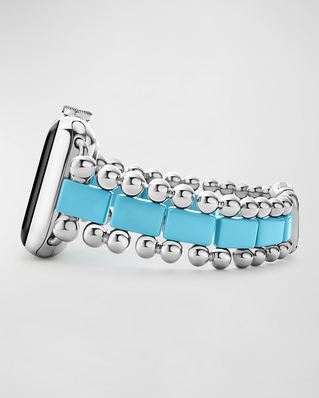 Smart Caviar Blue 38mm Apple Watch Bracelet