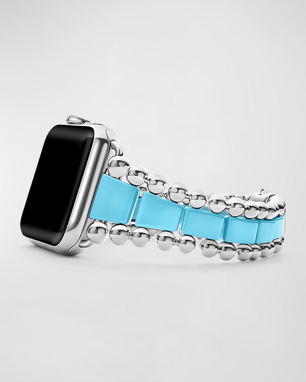 Smart Caviar White 42mm Apple Watch Bracelet