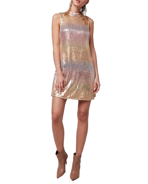 Stardust Sequin Shift Dress