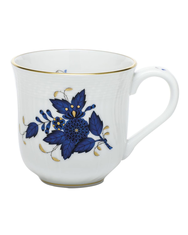 Herend Chinese Bouquet Black Sapphire Mug