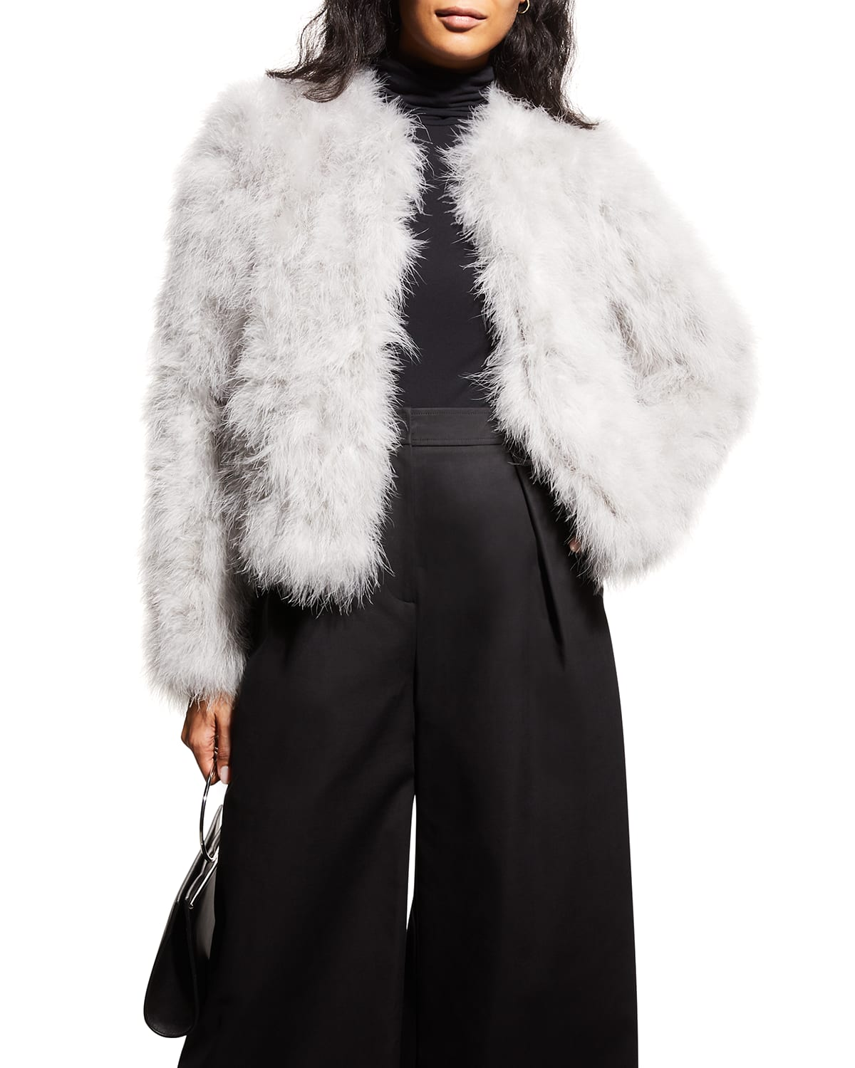 Deora Feather Topper Jacket