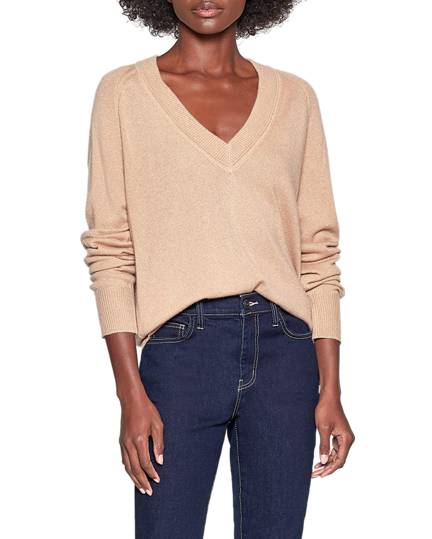Madeline V-Neck Cashmere Sweater