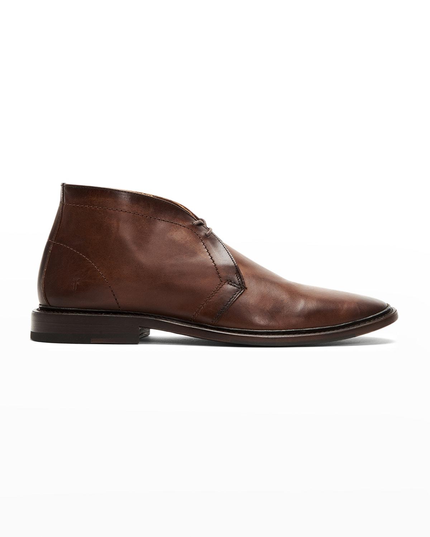 Men's Paul Leather Chukka Boots