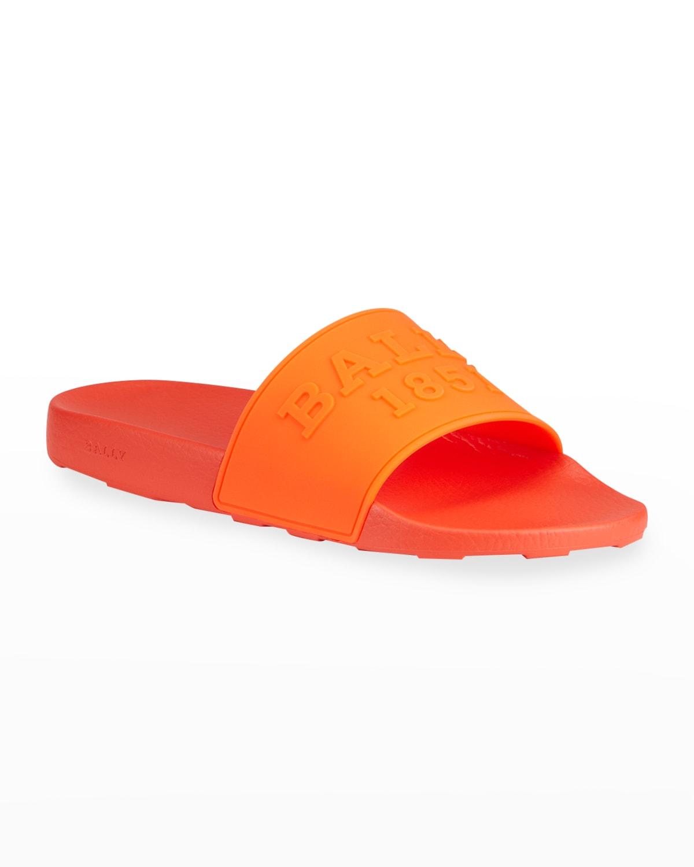 Men's Slaim 18 Neon Pool Slide Sandals