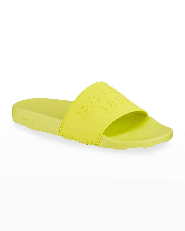 Men's Slaim 19 Neon Pool Slide Sandals