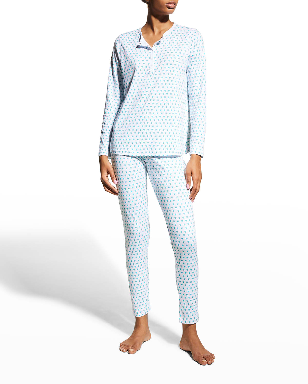 Hearts Two-Piece Pajama Set