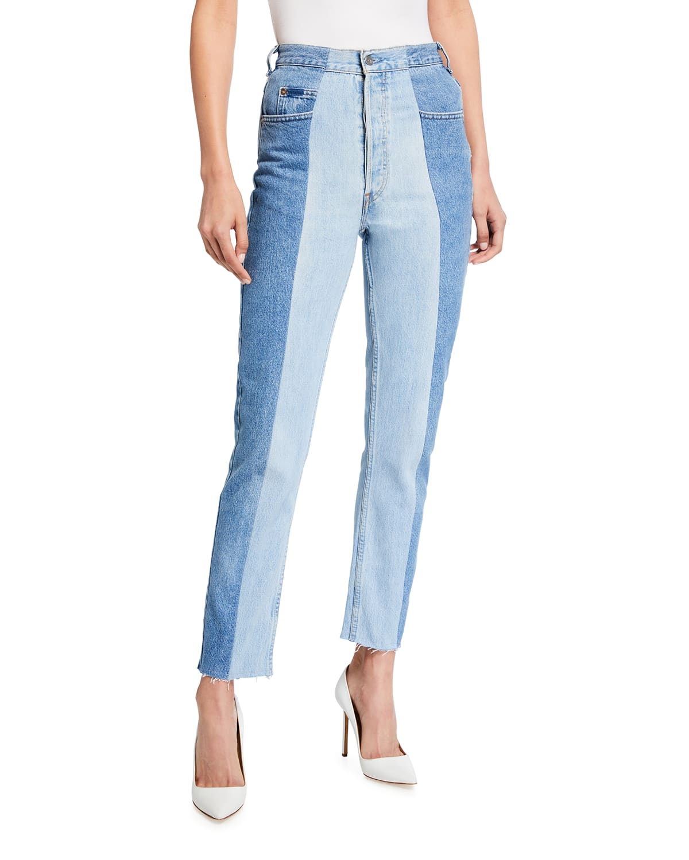 The Straight Leg Crop Jeans