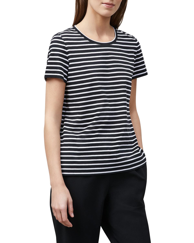 Modern Cotton Stripe T-Shirt