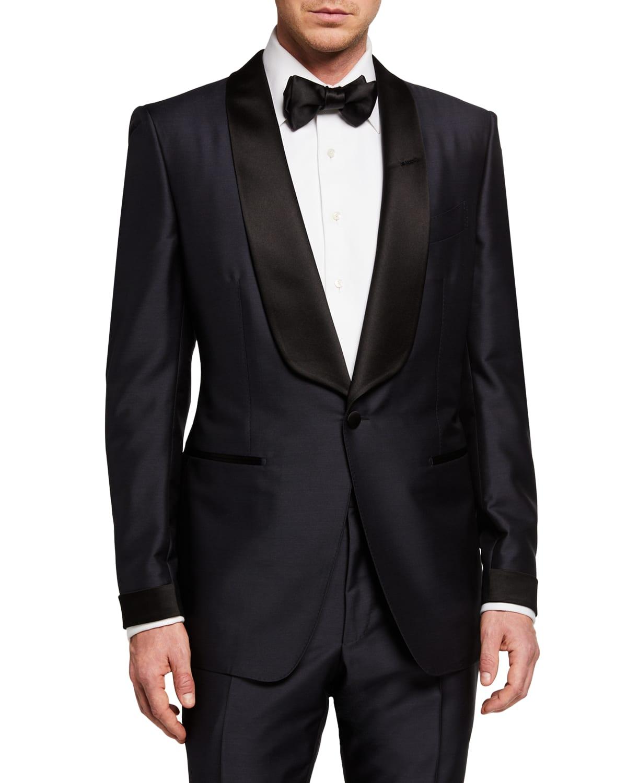 O'Connor Mohair/Silk-Blend Shawl-Collar Tuxedo