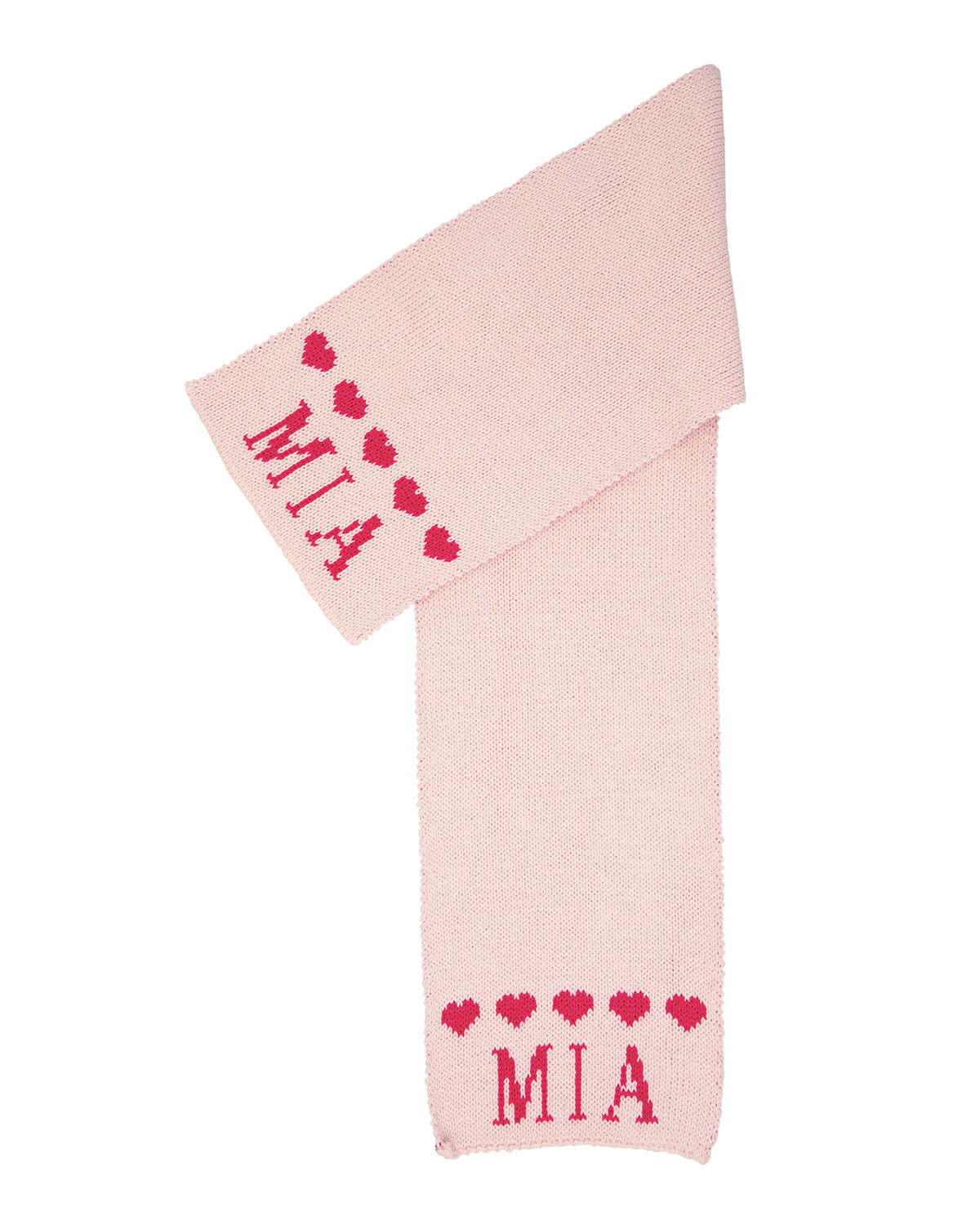 Kid's String of Hearts Scarf