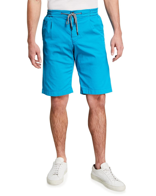 Men's Drawstring Knee-Length Shorts