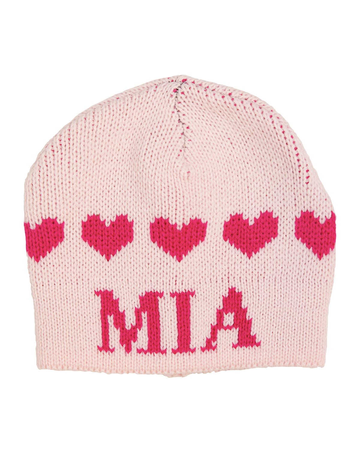 Kid's String of Hearts Beanie Hat