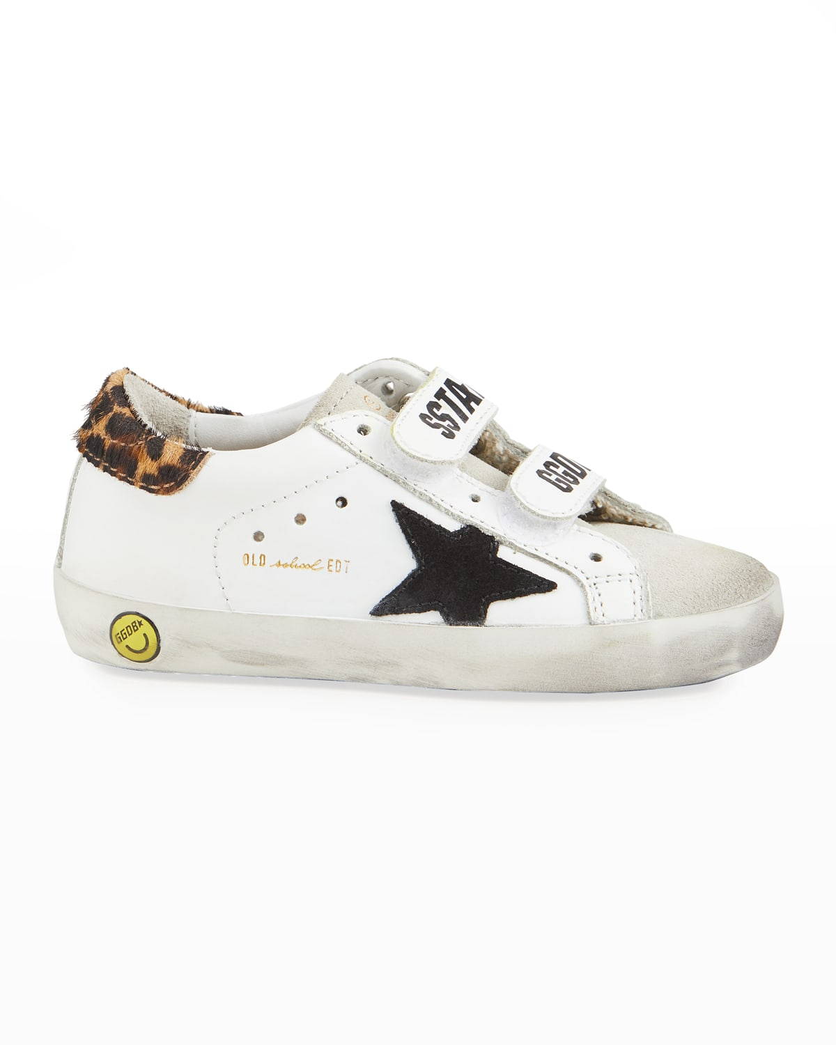 Girl's Old School Leather Sneakers