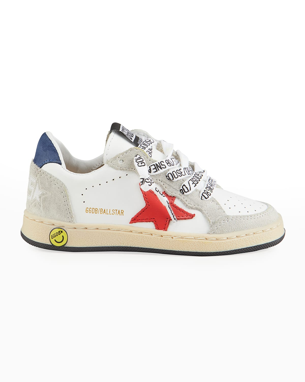 Ball Star Leather Low-Top Sneakers