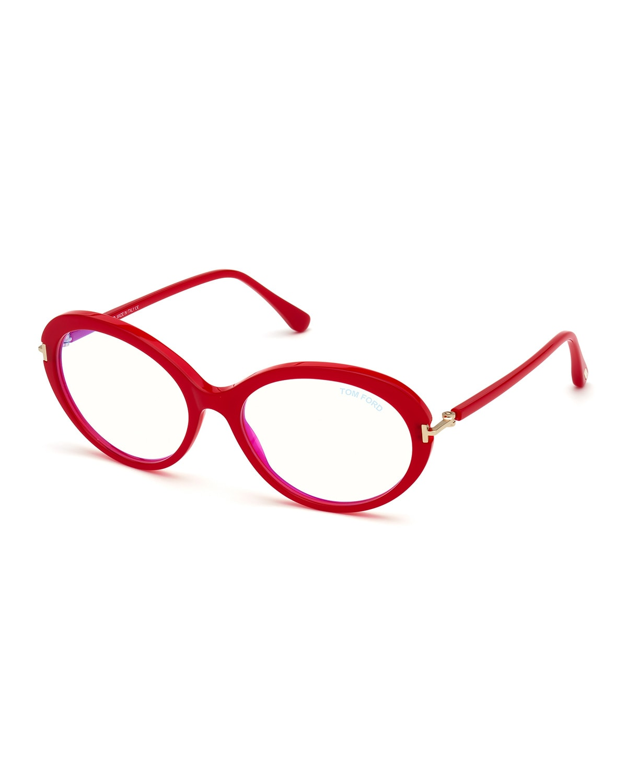 Oval Acetate Optical Frames