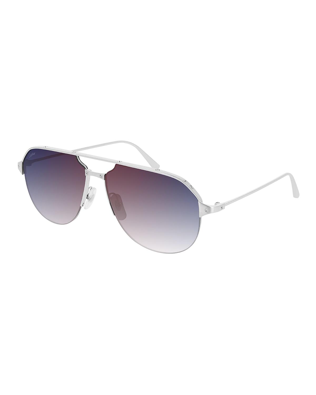 Men's Ct0229S-004 60 Metal Sunglasses