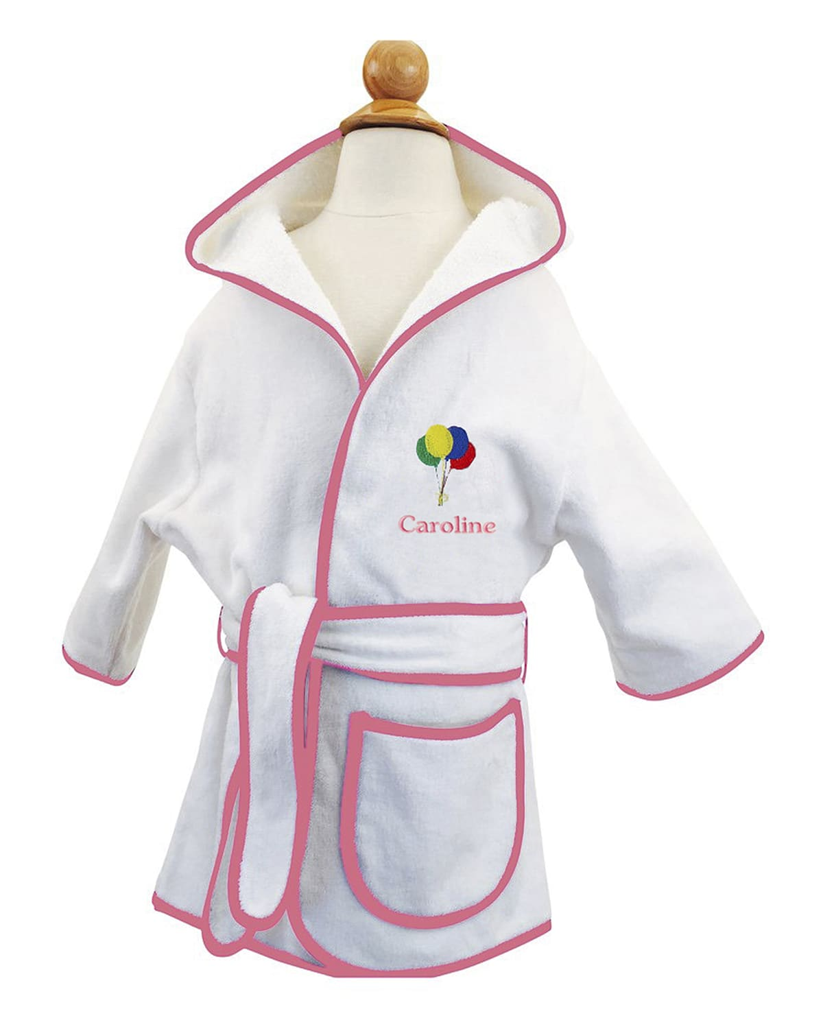 Kid's Terry Balloon Hooded Cover-Up Robe