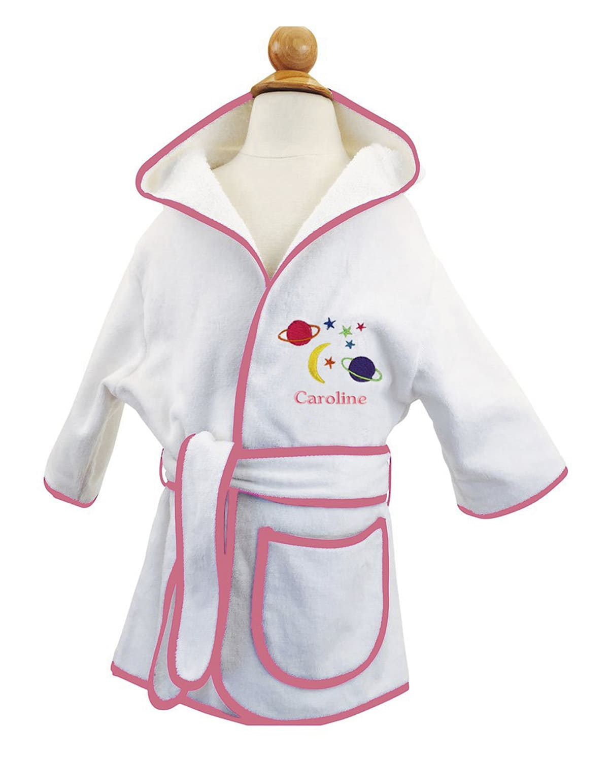 Kid's Terry Planets Hooded Cover-Up Robe
