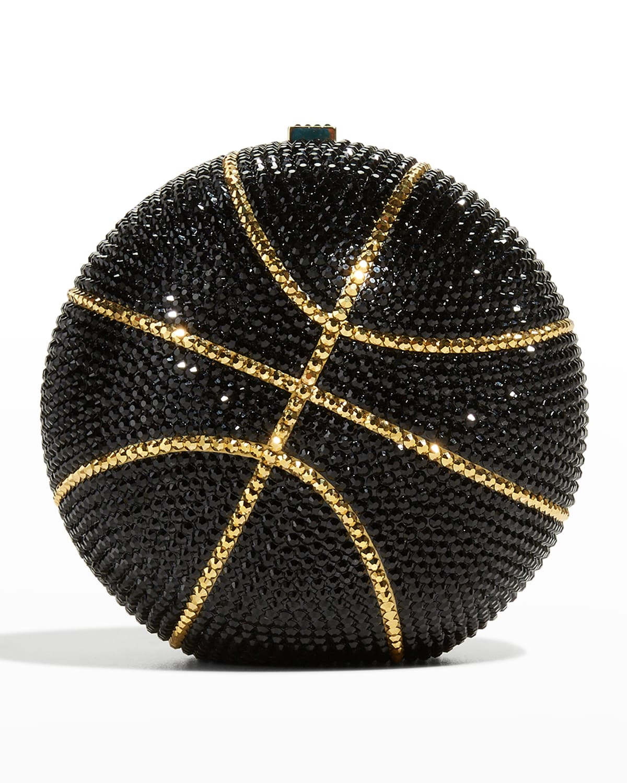 Basketball Crystal Sphere Clutch Bag