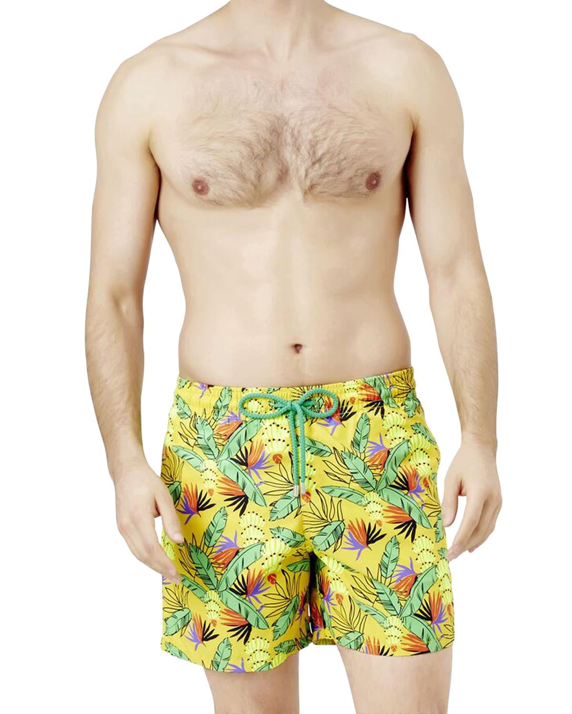 Men's Moorea Go Bananas Swim Trunks