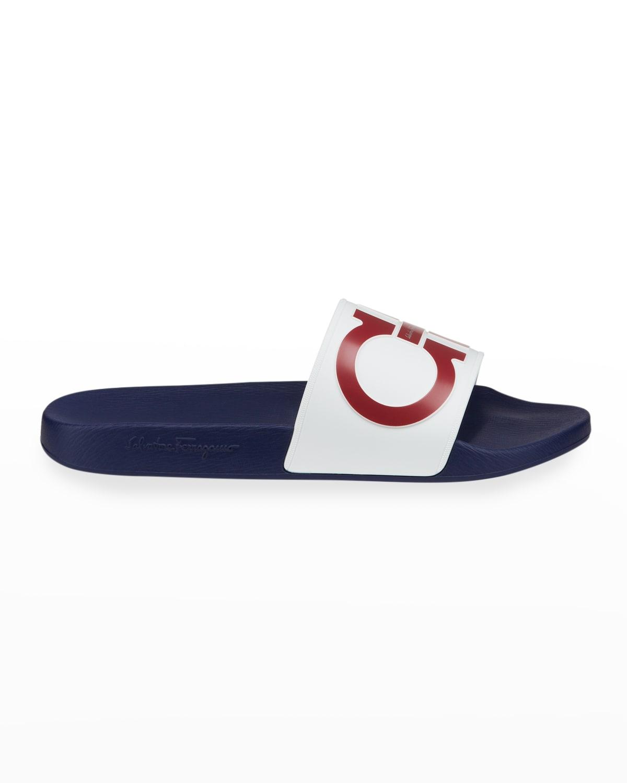 Men's Groove 6 Gancini Rubber Slide Sandals