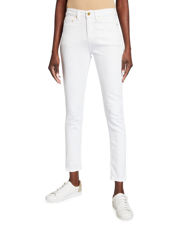 Skinny High-Waist Ankle Jeans