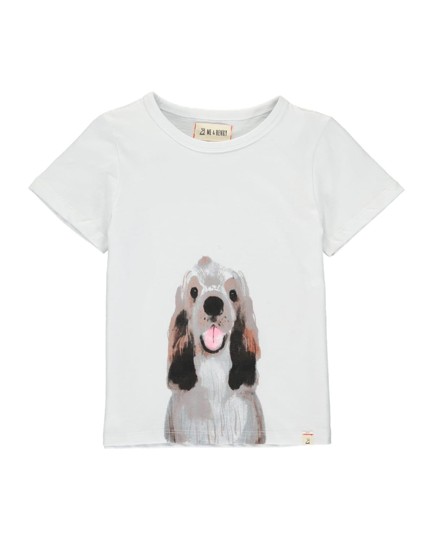Boy's Dog Graphic T-Shirt w/ Children's Book
