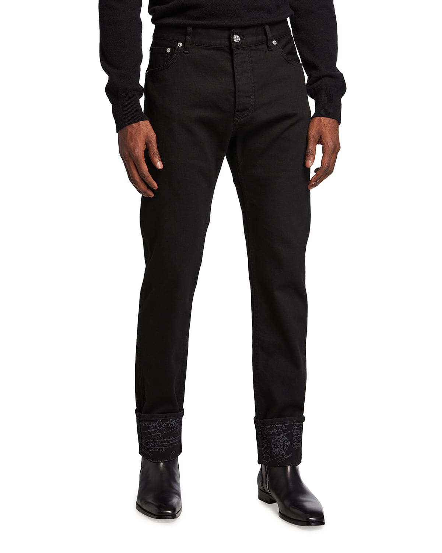 Men's Scritto Dark-Wash Jeans
