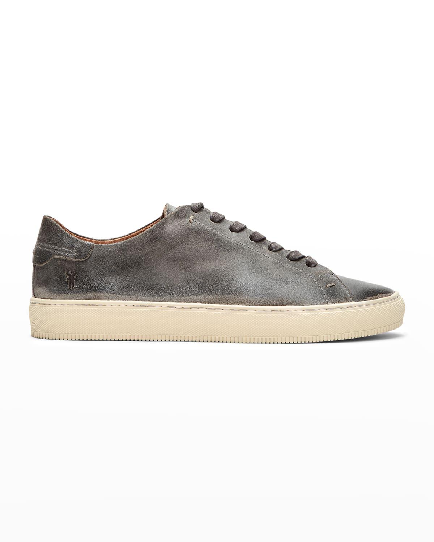 Men's Astor Leather Low-Top Sneakers