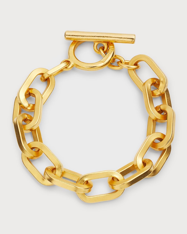 Oval-Link Chain Bracelet