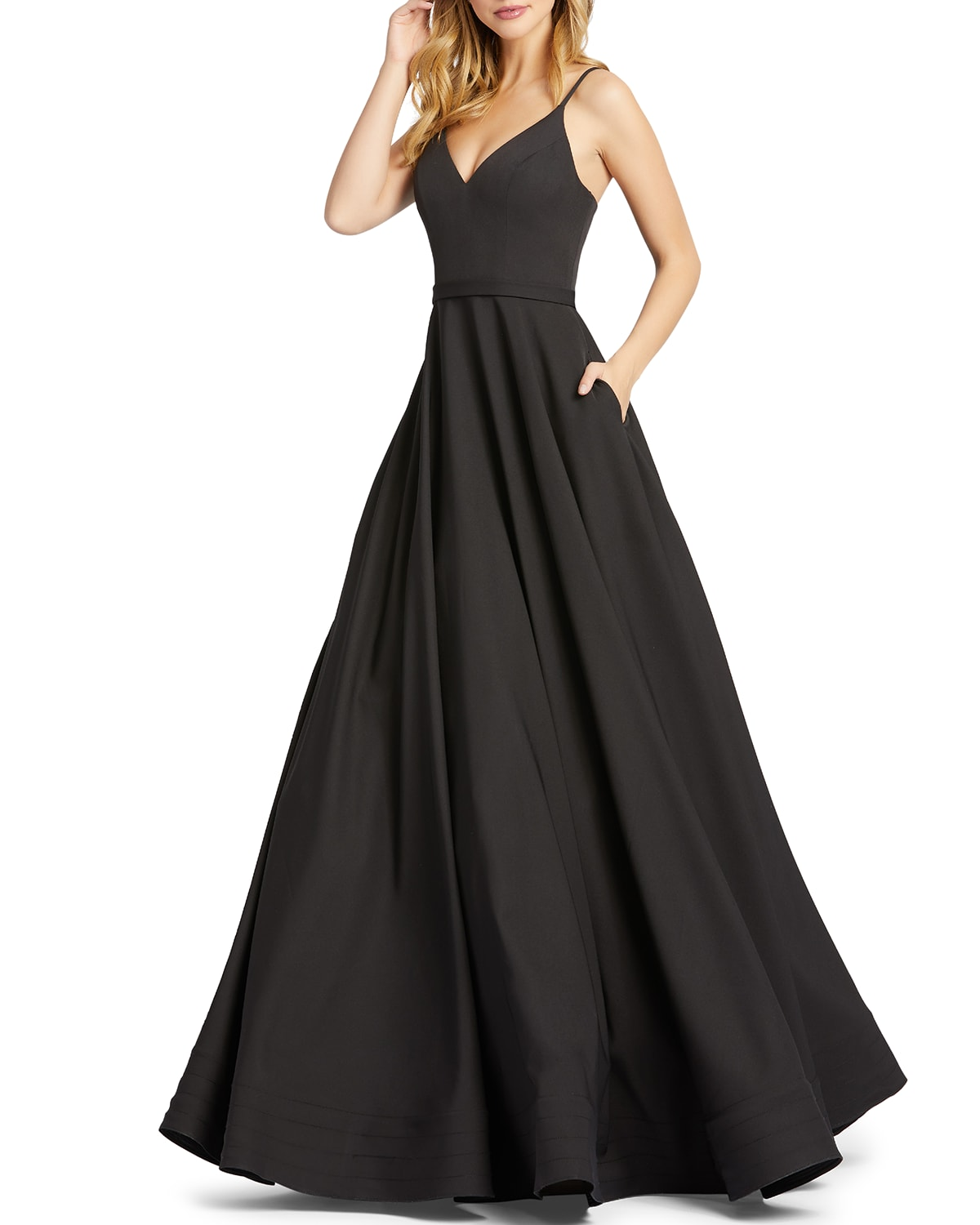 Sweetheart Ball Gown with Pockets